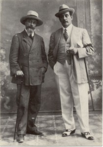Luigi Illica und Giacomo Puccini