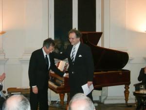 Der Altus Jean Nirouët mit dem Pianisten Gian Rosario Presutti.